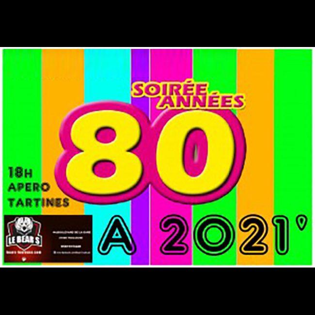 Soirée Années 80 – 2021